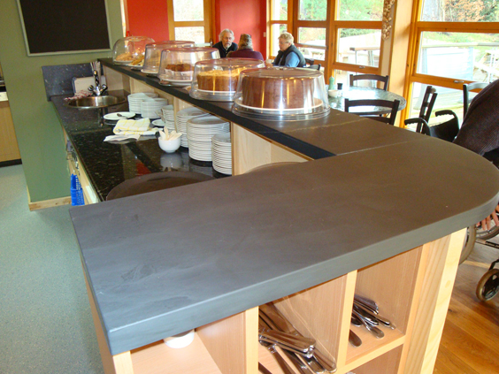 Bespoke Cafe Counter Top With